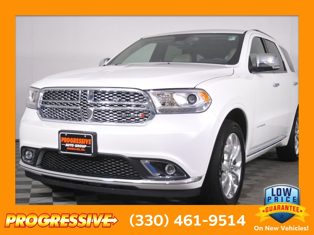 Progressive Dodge >> Certified Pre Owned 2017 Dodge Durango Citadel 4d Sport Utility In